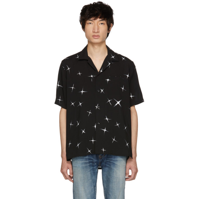 Black Star Shirt by Saint Laurent
