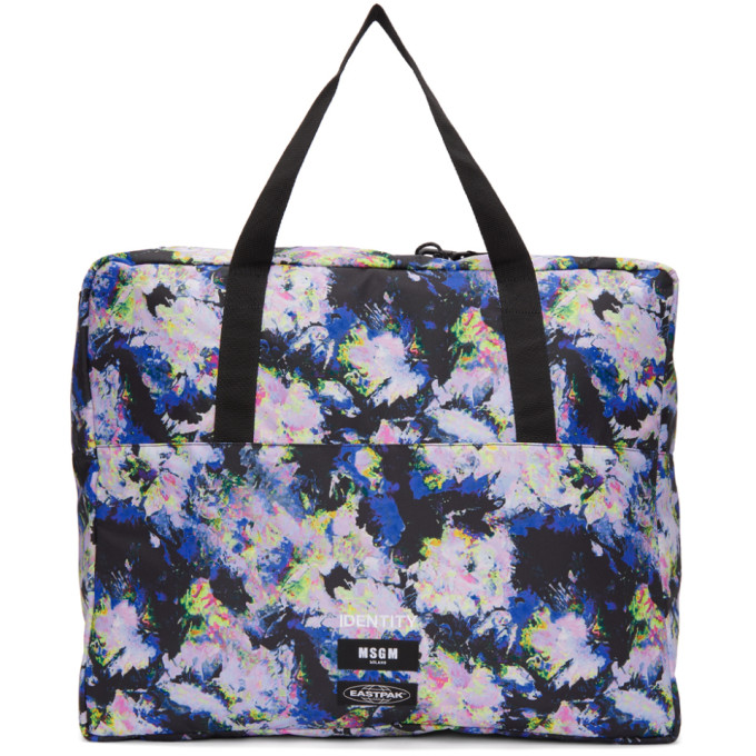 Multicolor Eastpak Edition Flowers Tote from SSENSE