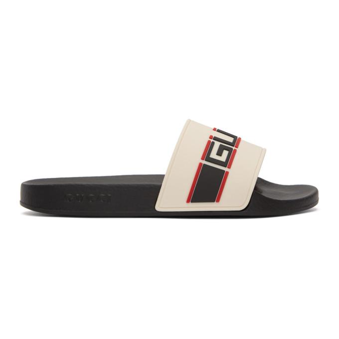 GUCCI Off-White Pursuit Slides