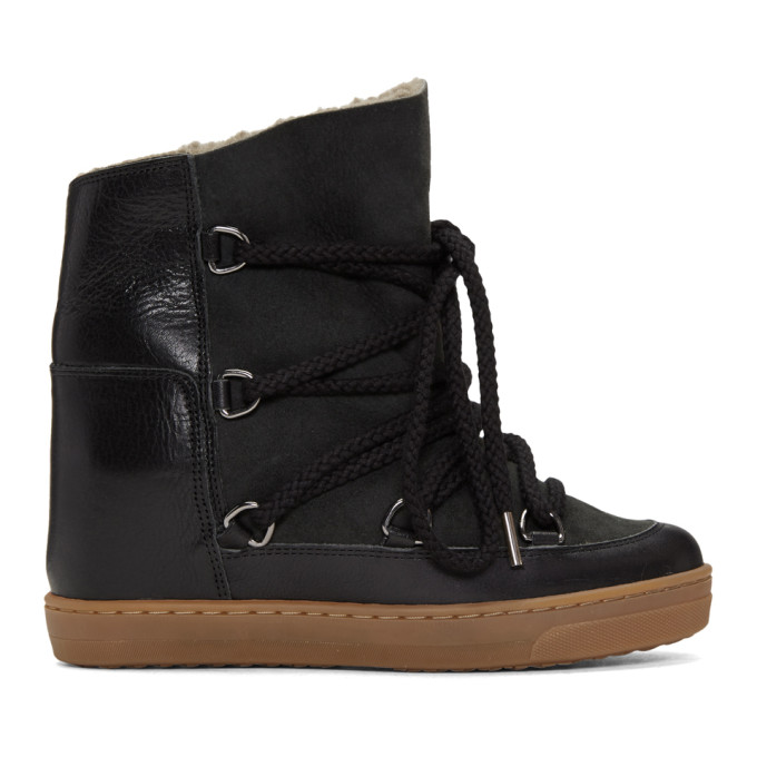 Nowles Boots in Black