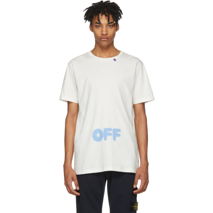 Off White Blurred T Shirt by Off White