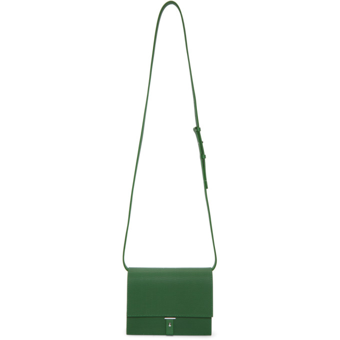 PB 0110 Pb 0110 Green Flap Bag