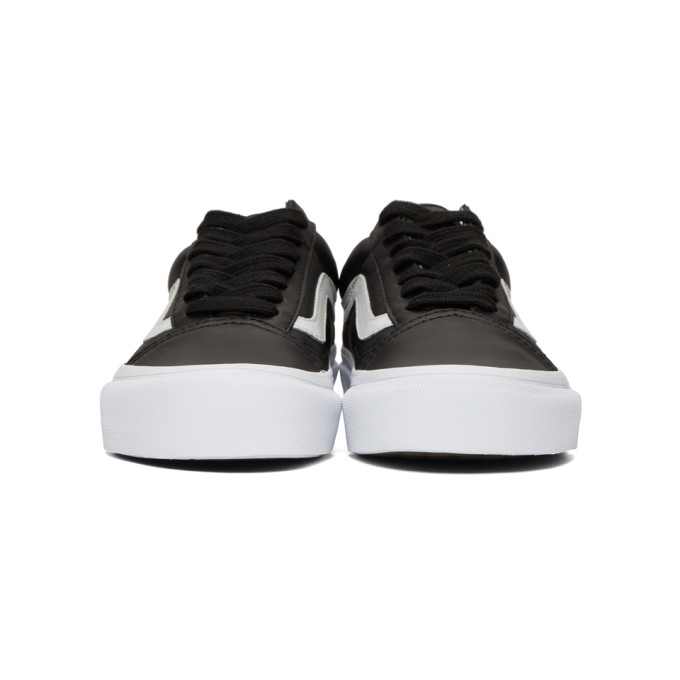 e1136350e1bf80 VANS BLACK OG OLD SKOOL LX VL SNEAKERS