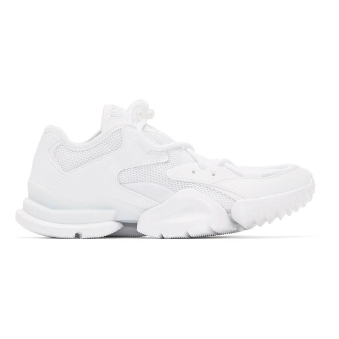 e6db07e55a8 Reebok Run R 96 Sneakers In White