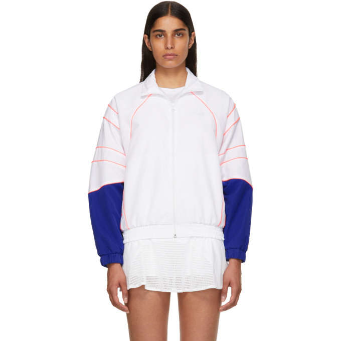 ADIDAS ORIGINALS WHITE EQT TRACK JACKET