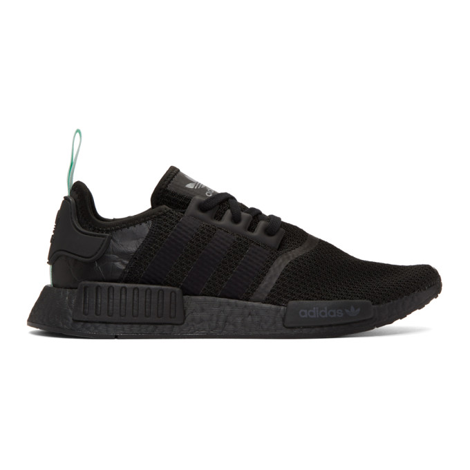 ADIDAS ORIGINALS BLACK NMD-R1 W SNEAKERS