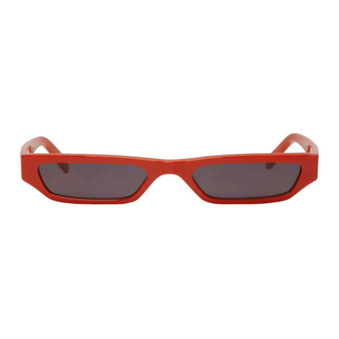 Red Ace & Tate Edition Pris Sunglasses by Cmmn Swdn