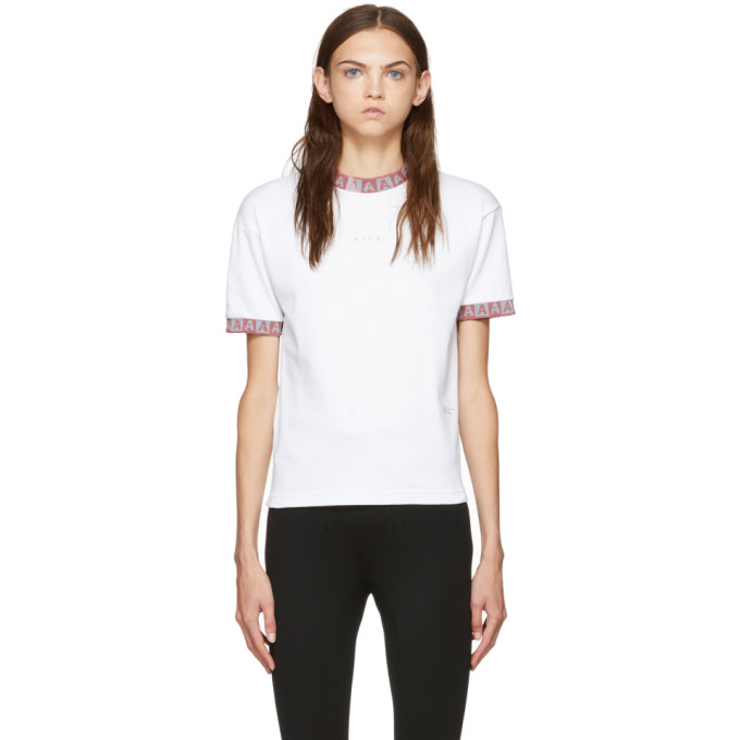 ALYX Visual Collection Logo Sports T-Shirt in White