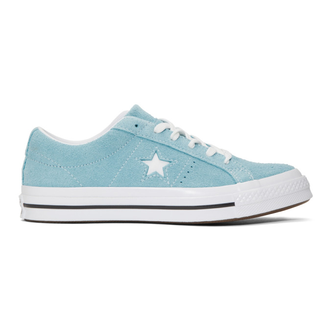87abf822efd2 CONVERSE BLUE SUEDE ONE STAR SNEAKERS
