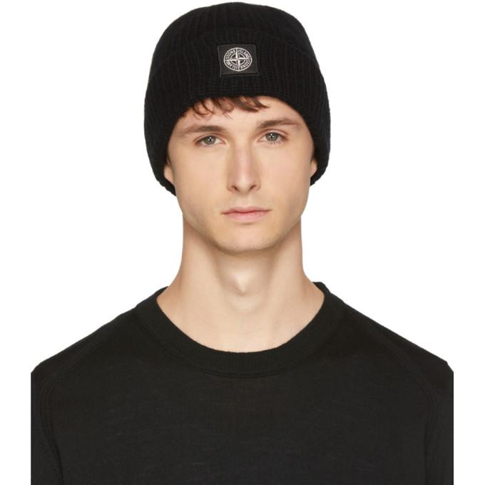 3b4efd15c Black Logo Beanie