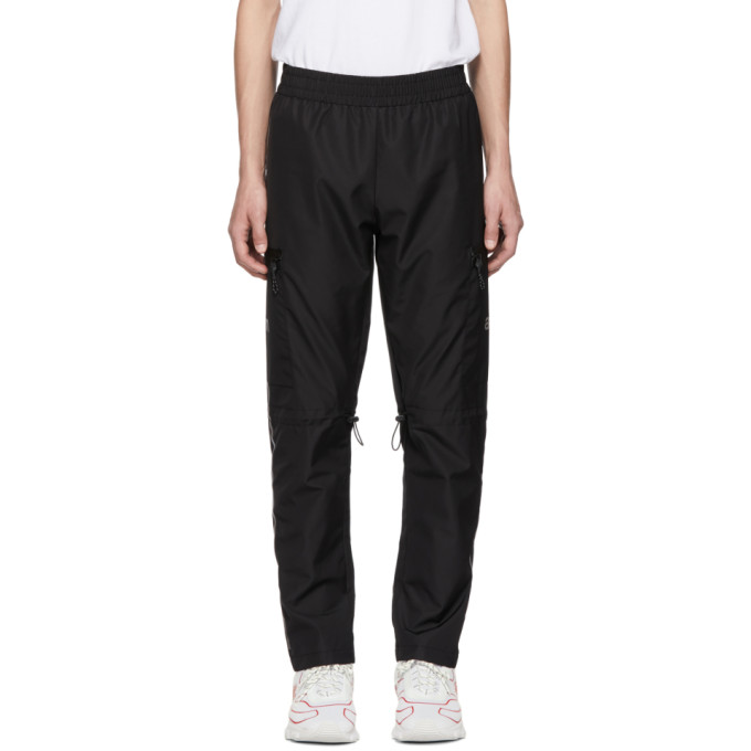 ALL IN All In Black Tennis Lounge Pants