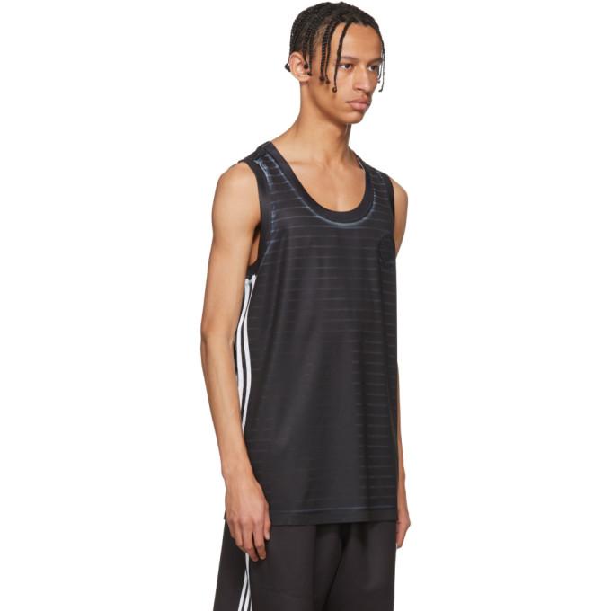 Black and White Basketball Jersey Tank Top adidas Originals by Alexander Wang