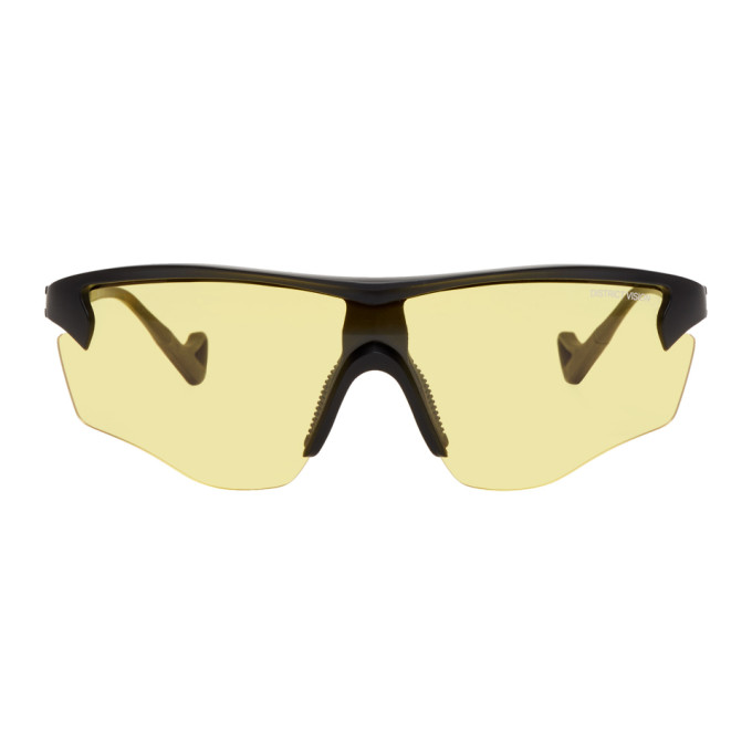 DISTRICT VISION District Vision Black And Yellow Junya Racer Sunglasses