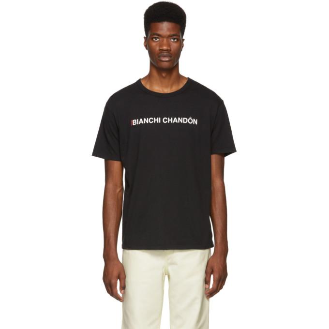 BIANCA CHANDON BLACK TOM BIANCHI EDITION BIANCHI CHANDON T-SHIRT