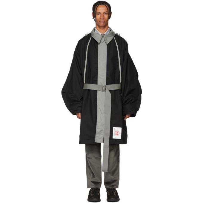 LANDLORD Landlord Black And Green Kxl Strap Mods Coat