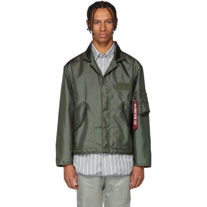 LANDLORD Landlord Green Alpha Cwu-45 Nomex Blazer Jacket