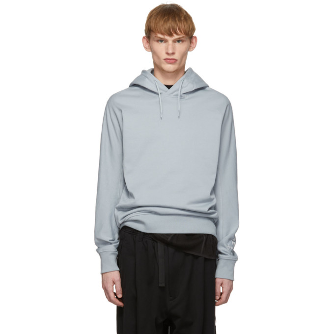 Grey New Classic Hoodie by Y 3