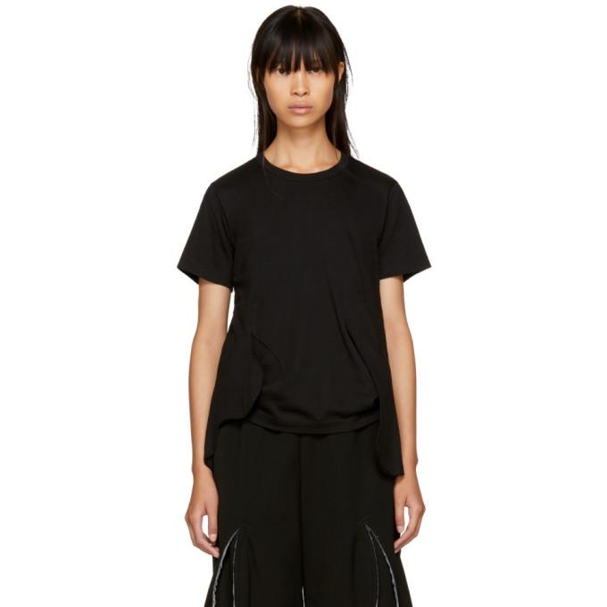 Comme Des Garçons Black Cut-Away T-Shirt