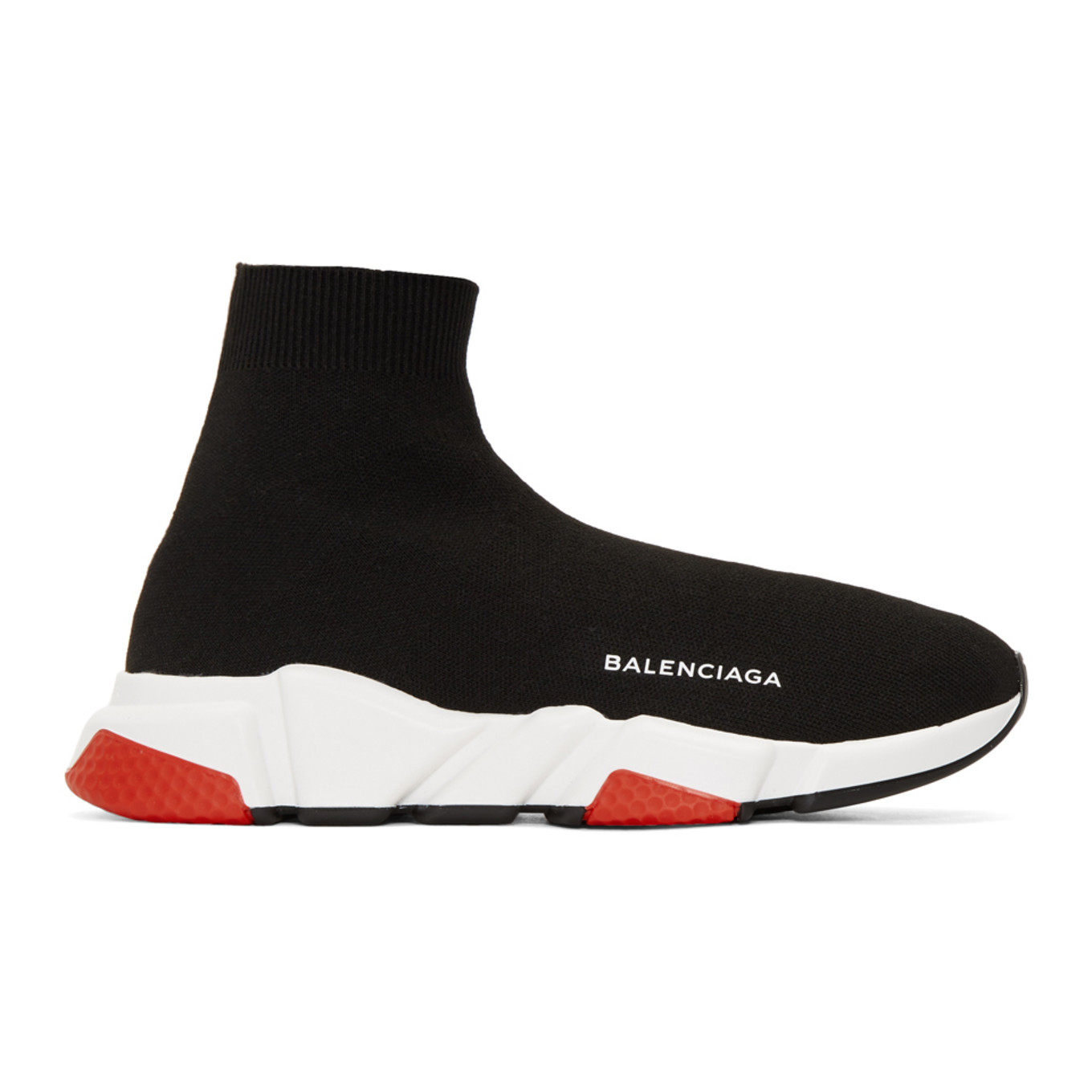 Black and Red Speed Sneakers Balenciaga