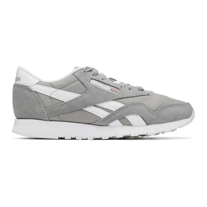 Grey Club Nylon Sneakers by Reebok Classics