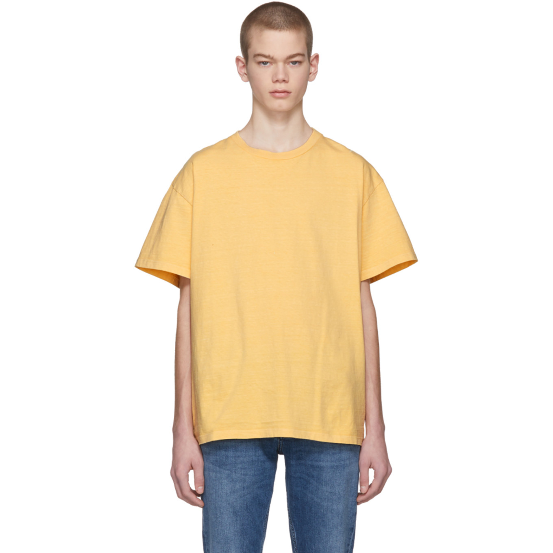 Yellow Big T Shirt by John Elliott