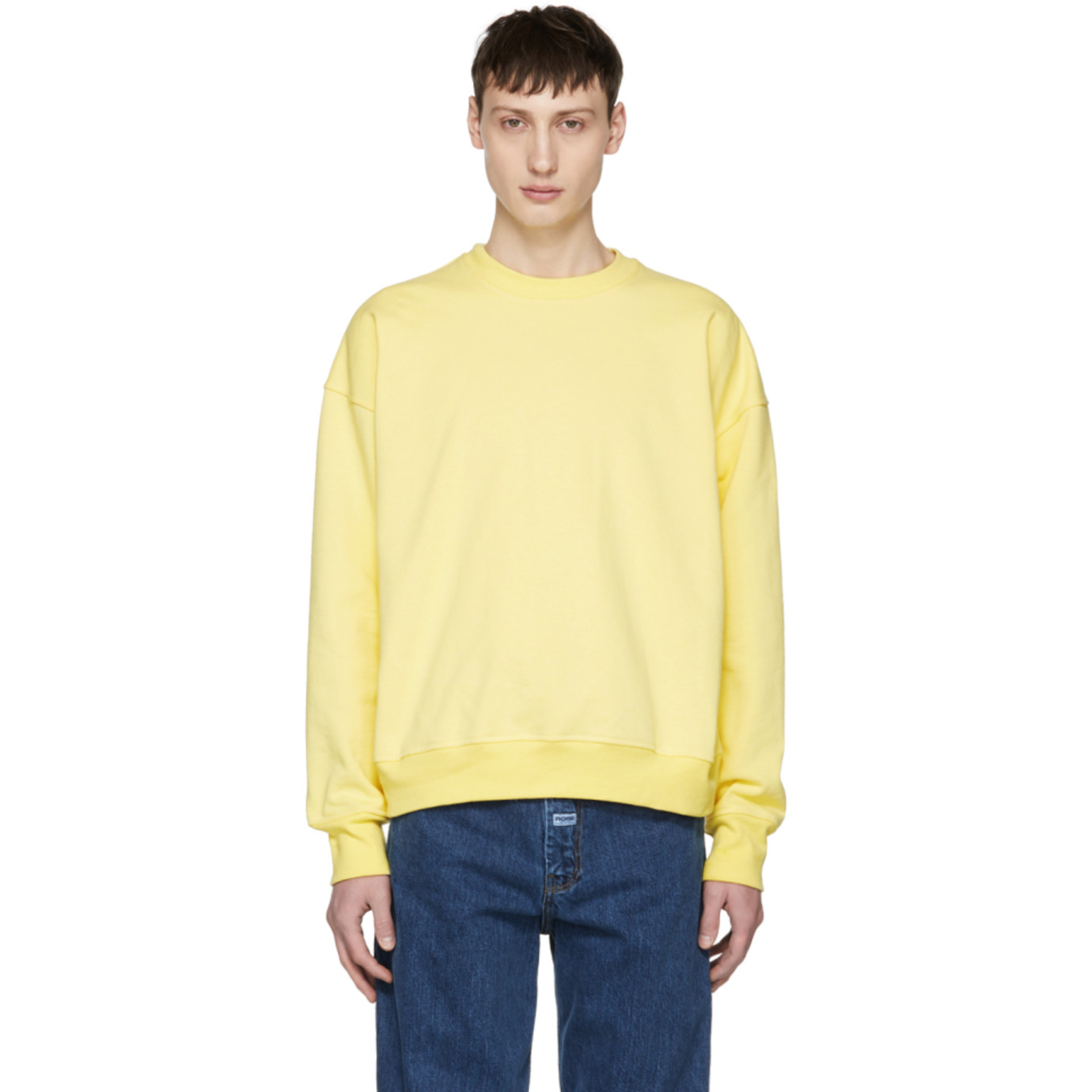 Yellow Icon Sweatshirt by Noon Goons