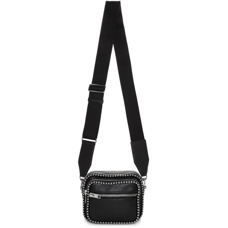 Black Large Attica Soft X Body Bag by Alexander Wang