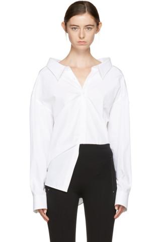Balenciaga - White Pinched Collar Shirt