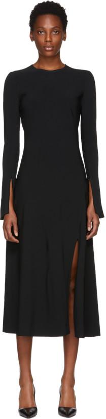 Khaite Black Melinda Dress