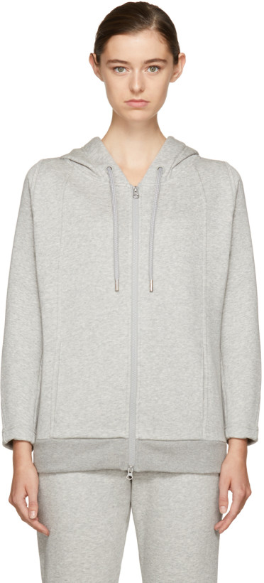 adidas by Stella McCartney Grey Essentials Hoodie
