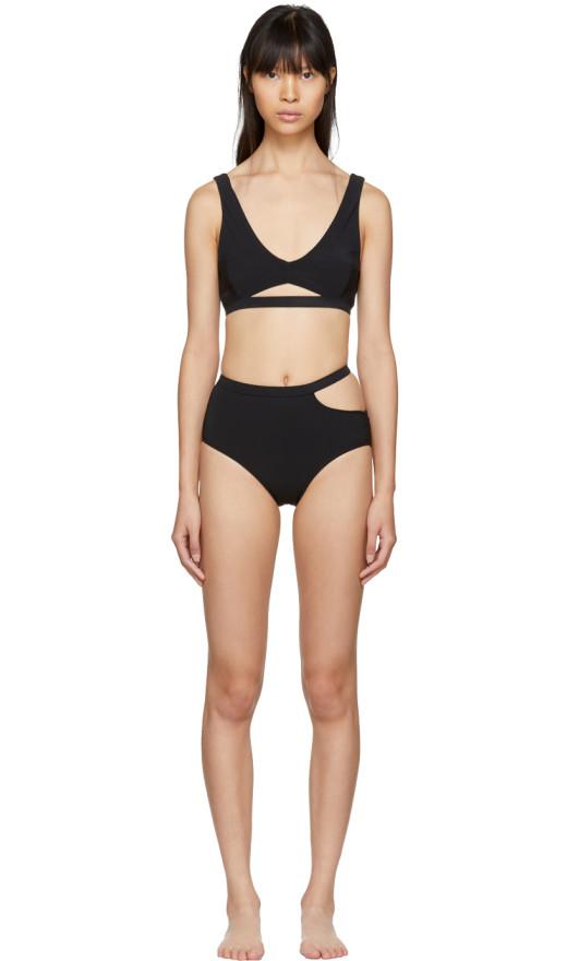 Marieyat - Black Ryym Sade Bikini