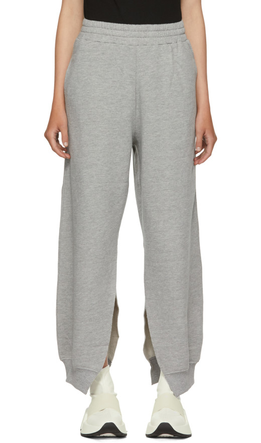 MM6 Maison Martin Margiela - Grey Slit Sweatpants