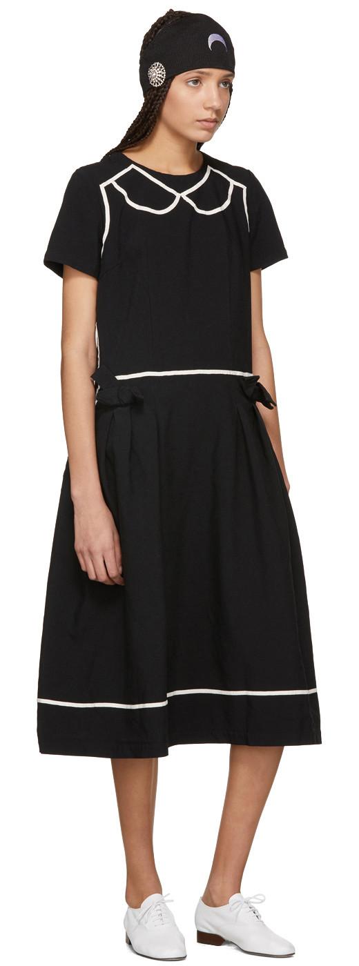 Comme des Garçons Comme des Garçons - Black Trompe Loeil Dress
