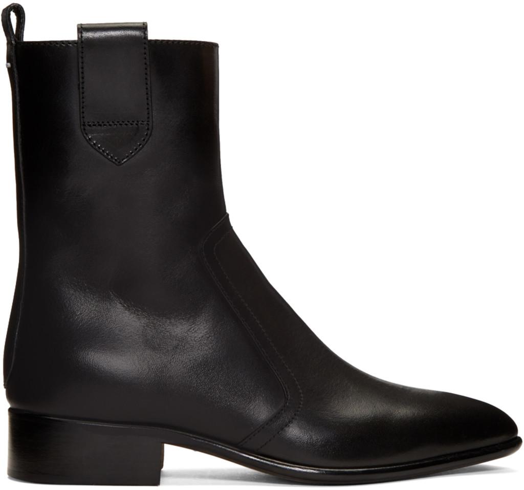 Kenzo SSENSE Exclusive Silver Tabi Boots