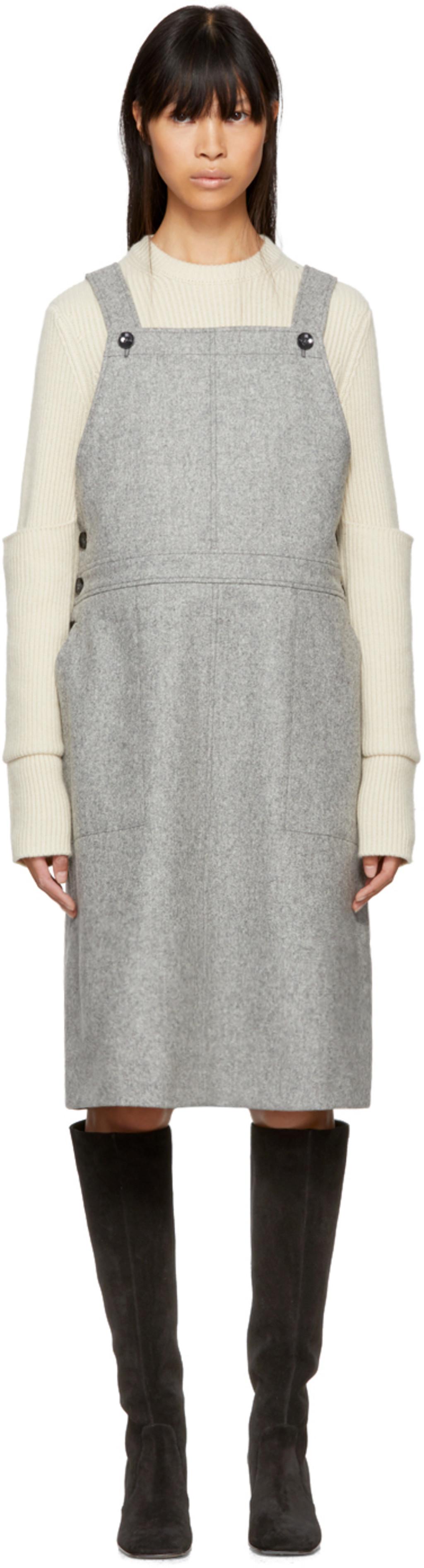 Grey Anni Dress Ymc You Must Create IGSNu