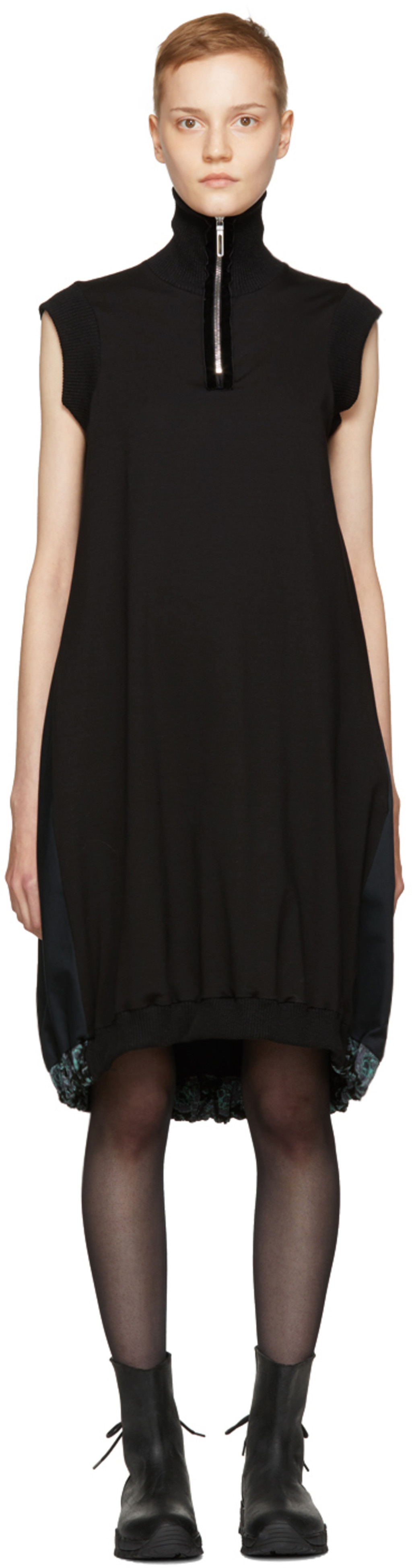 Black Forma Dress Ovelia Transtoto