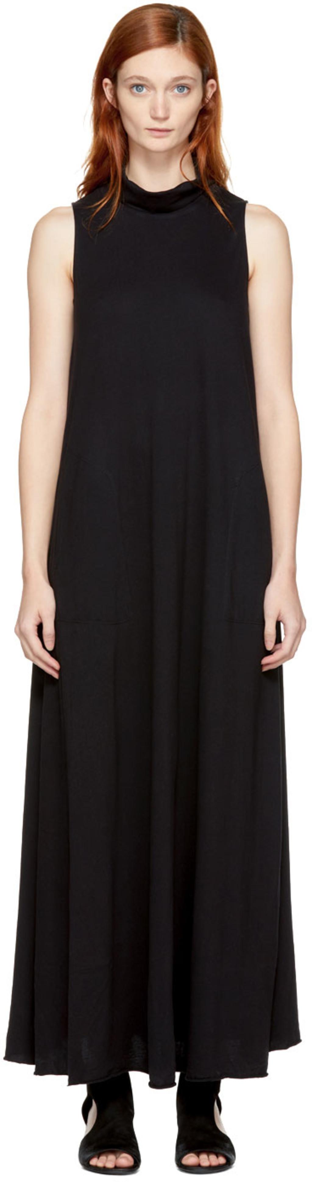 Ivory Long Turtleneck Dress Raquel Allegra