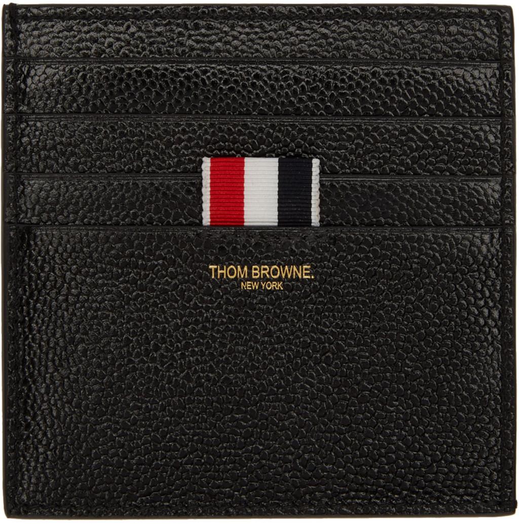 thom browne card holders for women ssense - Thom Browne Card Holder
