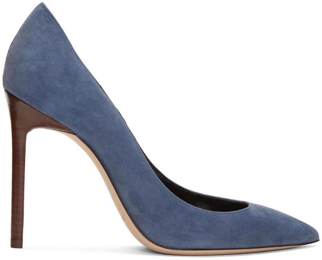 Black Patent Universite Loafer Heels Saint Laurent