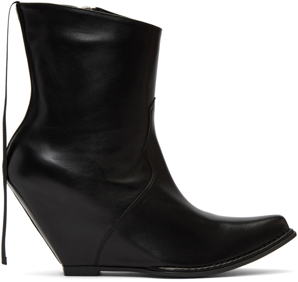 Opening Ceremony Black Suzi Ankle Boots