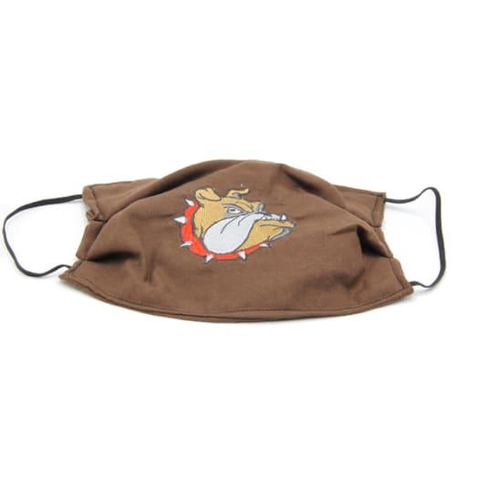 Cloth Mask - Bulldog - Brown