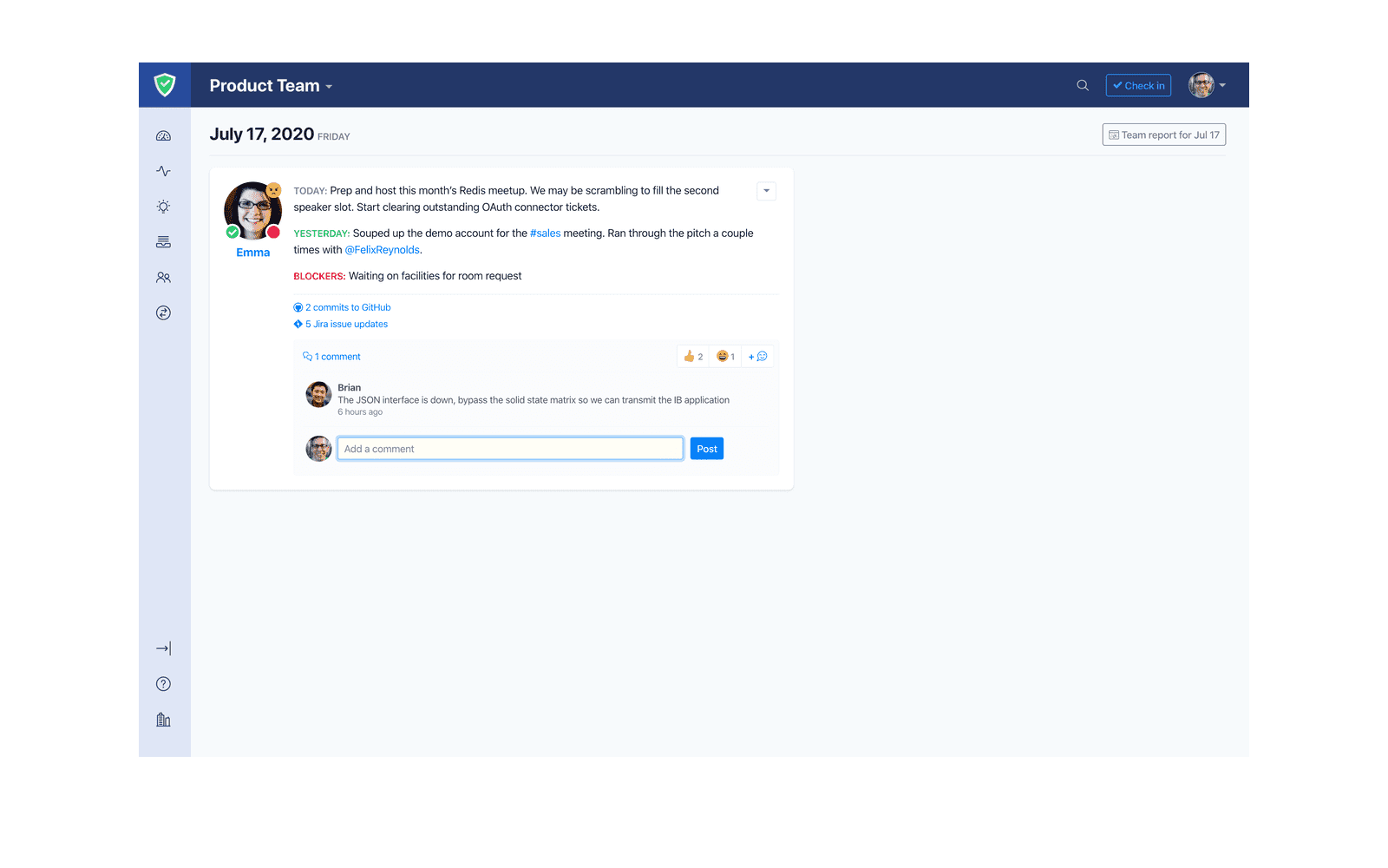Status Hero: Automated Stand-ups, Reports and Insights for