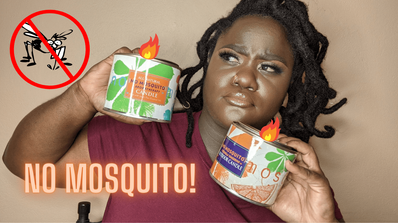 How to keep mosquitoes away naturally - NON TOXIC! | Candle Review | D'CaribbeanCultureShack