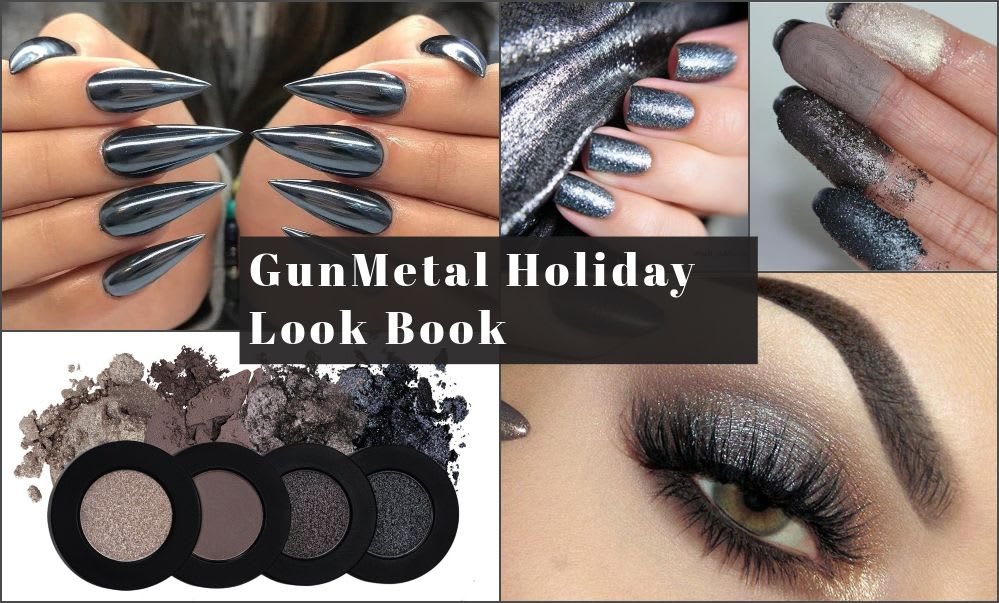 Gunmetal is the new Holiday red