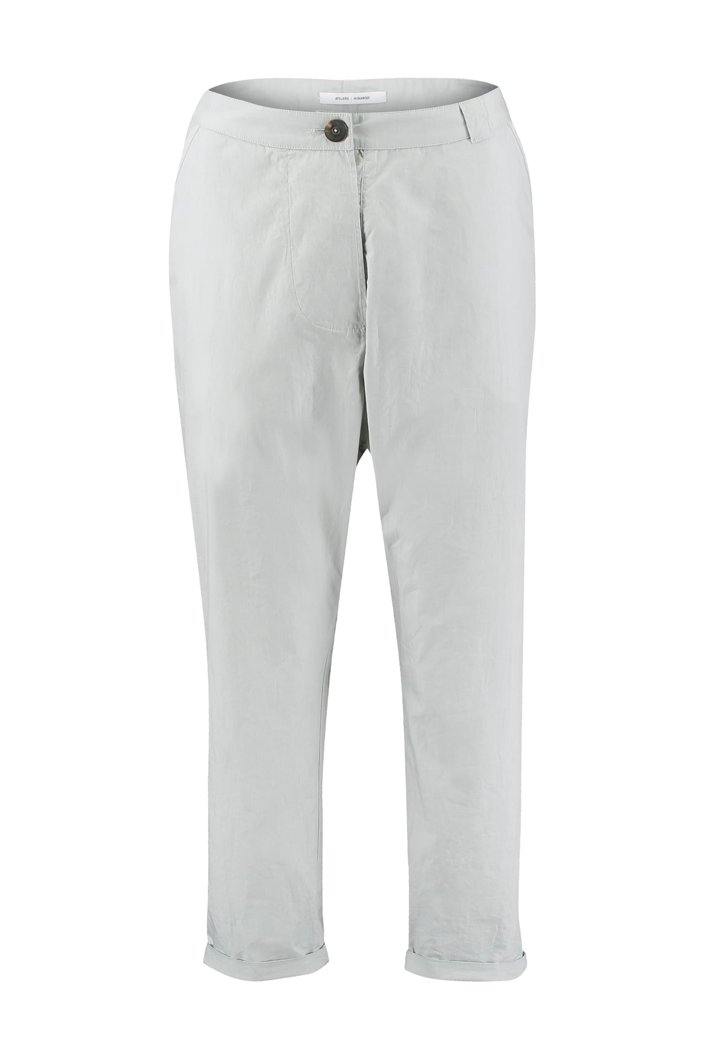 Humanoid Cotton Crisp Trousers in Mist