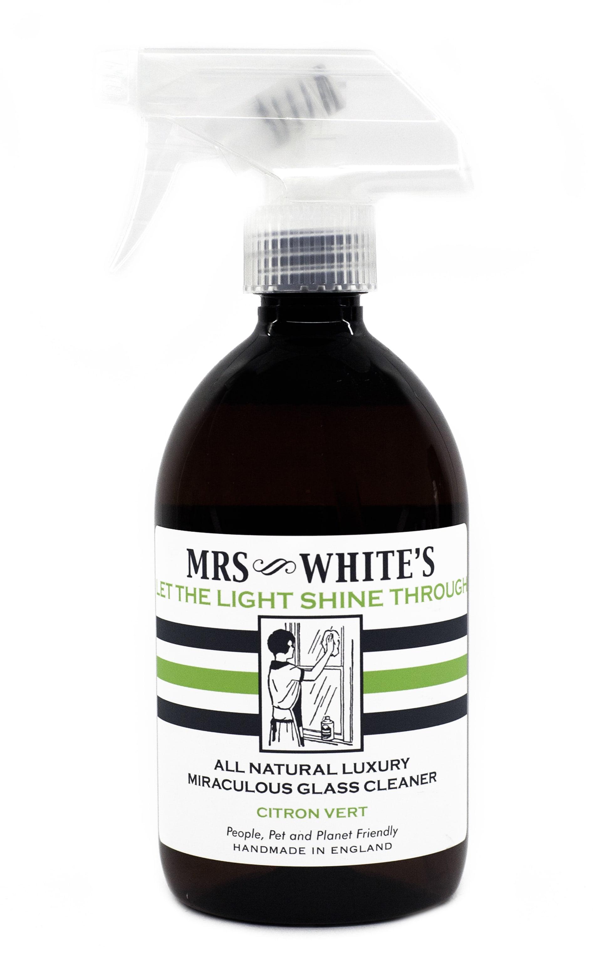 Mrs White's  Let the Light Shine Through - Glass Cleaner