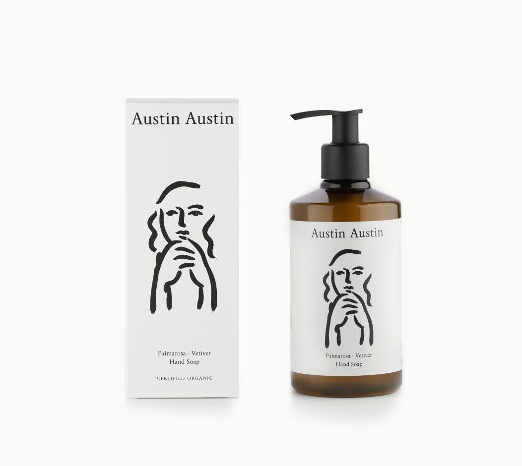 Austin Austin Palmarosa & Vetiver Hand Soap