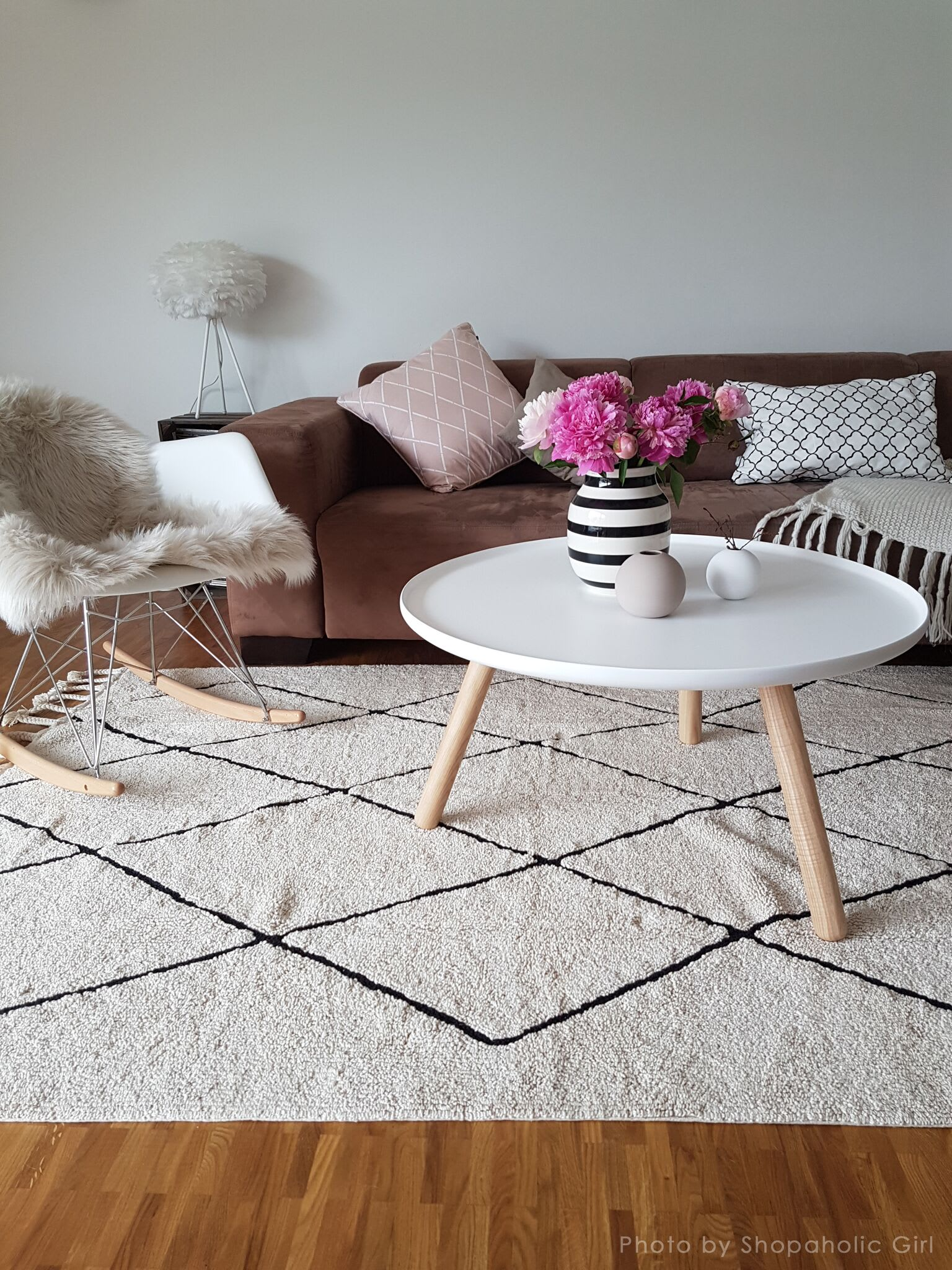 Lorena Canals Bereber Cross Design Large  Washable Rug