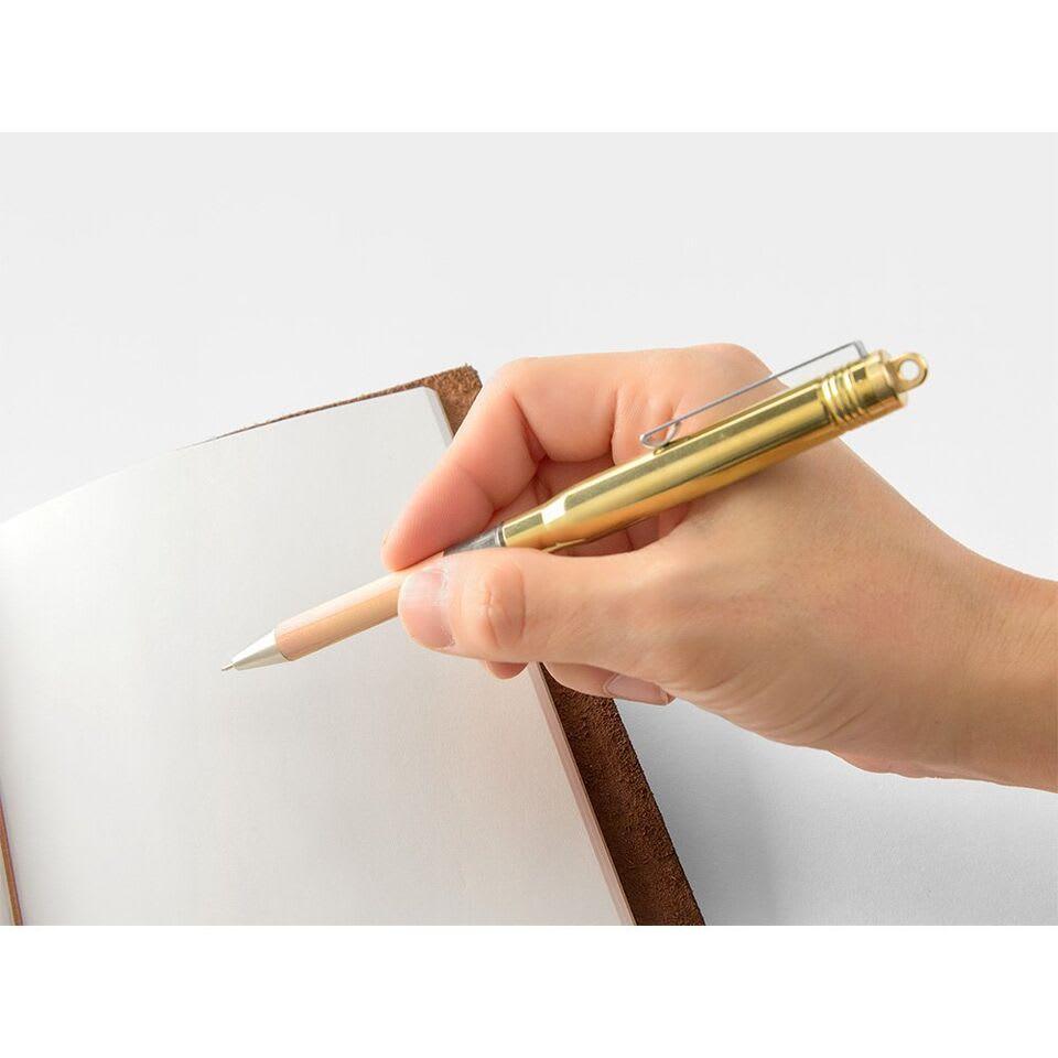 Traveler's Company TRC Traveler's Brass Ballpoint Pen