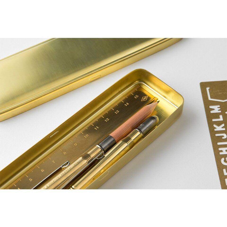 Traveler's Company TRC Brass Pen Case